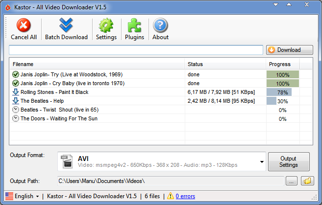 All Video Downloader: El cliente de descargas de vídeos definitivo